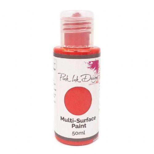 Pink Ink Multi Surface Paint Cranberry Kiss Lustre 50ml